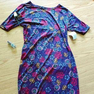 LuLaRoe Floral Julia Dress